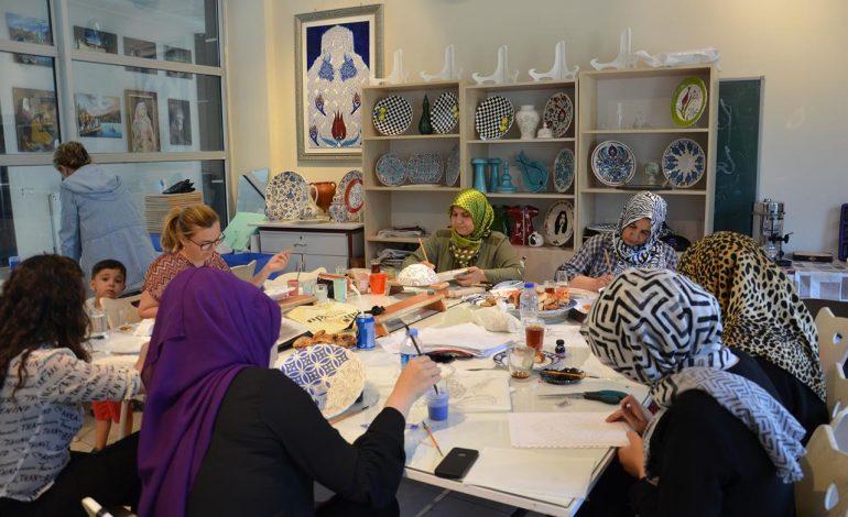 Sanat Merkezi'nde 35 branşta kurslar düzenleniyor