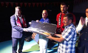 MHP'li Fendoğlu, 3'üncü Balaban Kültür Buluşmaları'na katıldı