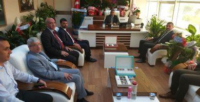 Başkan Avşar'ın Ziyaretleri Sürüyor
