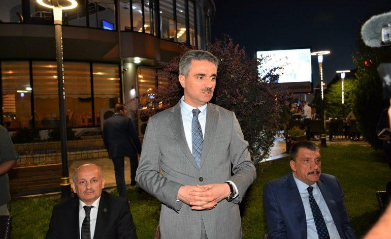 Vali Baruş, Büyükşehir Belediyesin Düzenlediği Muharrem Ayı İftarına Katıldı