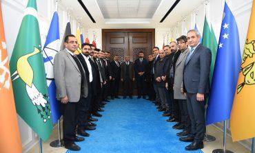MHP İl Başkanı Samanlı'dan Güder'e Ziyare